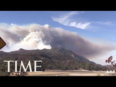 Southern California Wildfire Roars To Life In The Wilderness | TIME