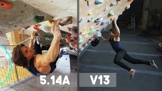 Hardest Problems In K2 VS Emil - Climbing In The Tunnel And Bouldering by Eric Karlsson Bouldering