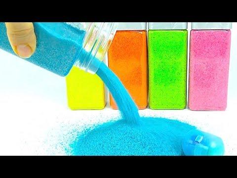 Сюрпризы и игрушки для детей 🎀  Распаковываем необычные сюрпризы 🎁 Учим цвета  Игрушкин ТВ - DomaVideo.Ru