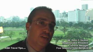 Four Seasons Hotel Bangkok GM And RVP Interview