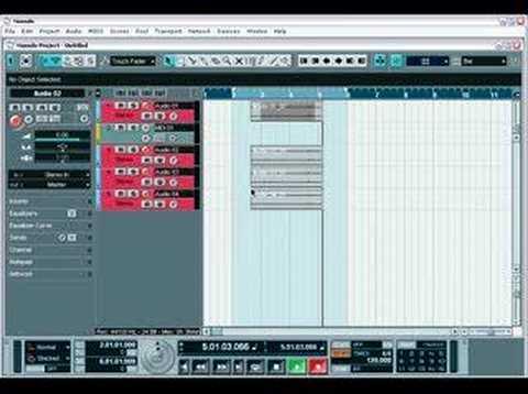 Nuendo 2 tutorial – Recording