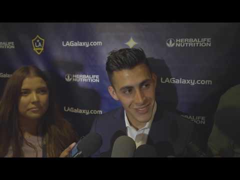 Video: Cristian Pavón speaks following the LA Galaxy 2-0 victory over FC Dallas