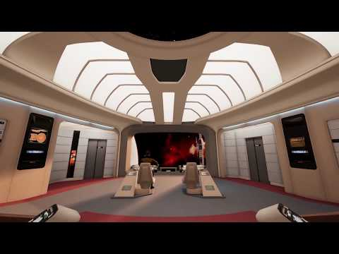 A Tour of the Enterprise D (TNG) in Unreal Engine 4