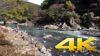 Kameoka Japan  city images : Kyoto Kameoka Hozugawa River Boat Ride - 保津川下り- 4K Ultra HD