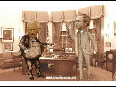 George Bush and Dick Cheney...BRILLIANT!!