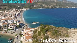 Dronevideo / Luchtvideo Kokkari - GriekseGids.TV