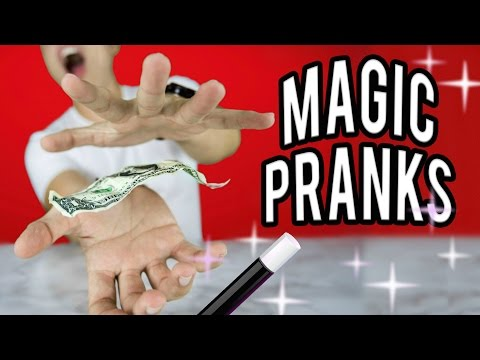 10 MAGIC PRANKS! Get your FRIENDS & FAMILY! NataliesOutlet (видео)
