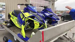 10. 2019 Yamaha Snowmobiles! The SRX is back