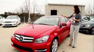 Camille Reviews&Drives The Sporty 2013 C250 Coupe