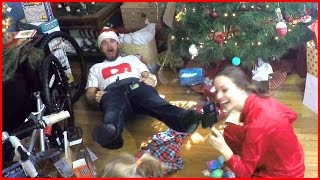 CHRISTMAS MORNING TIME LAPSE! | GOPRO in 4K