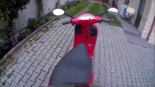 7. Vespa ET2 50 ride