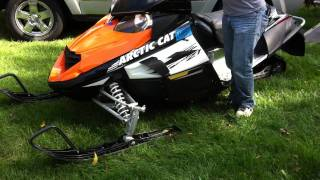 9. 2009 Arctic Cat Z1 Turbo with stock exhaust
