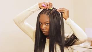 Video VERY DETAILED Straight Crochet Braids Tutorial ft. Italian Perm Yaki Hair from Sam's Beauty MP3, 3GP, MP4, WEBM, AVI, FLV September 2018
