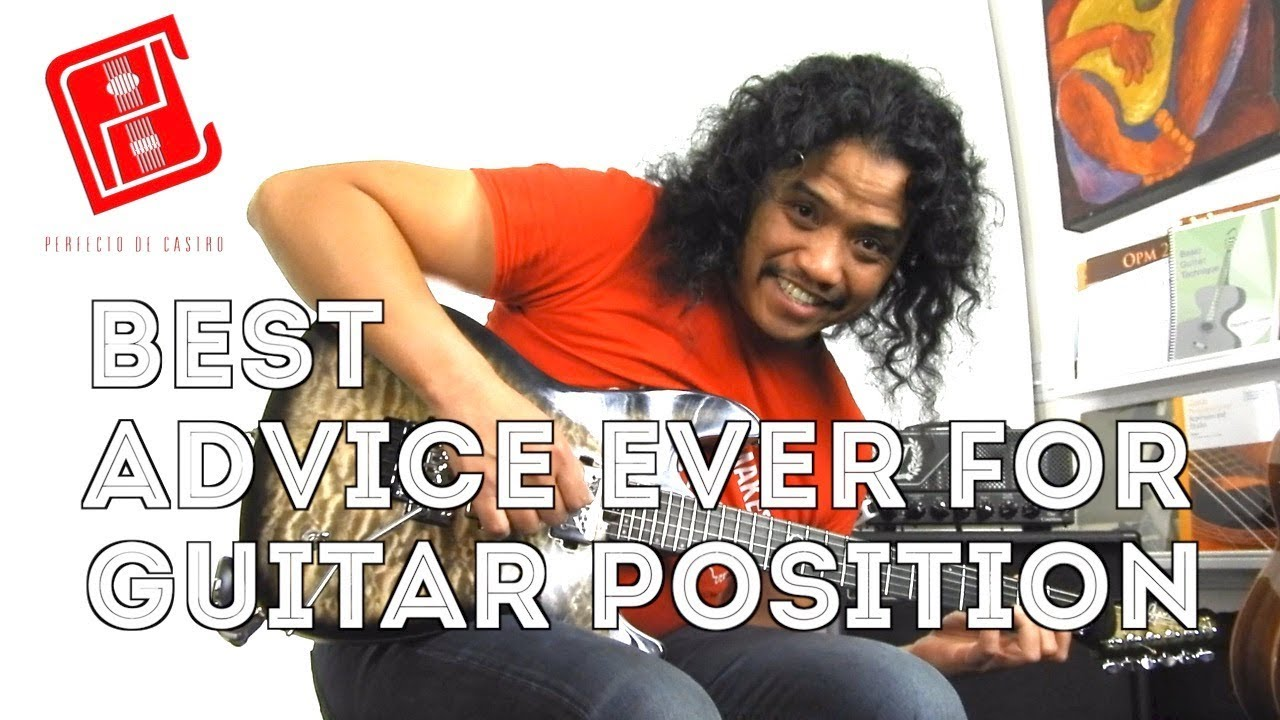 BEST Guitar Positioning Advice EVER | Electric Acoustic Classical Guitar LESSON