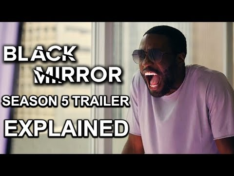 Black Mirror Season 5 Trailer EXPLAINED And REACTION