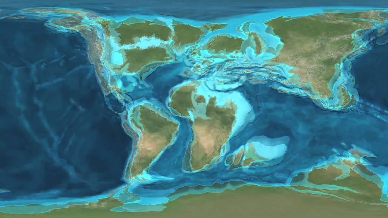 Utváření zemských kontinentů