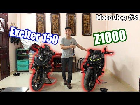 Từ Exciter 150 lên thẳng Z1000 có chạy được không? Cảm nhận khi lái Z1000 | Motovlog 81 - Thời lượng: 23 phút.