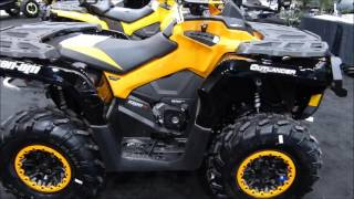 6. 2016 Can Am Outlander 1000 XTp Walk Around