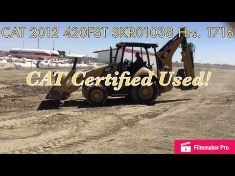 CATERPILLAR RETROEXCAVADORAS CARGADORAS 420FST equipment video uGfbnS0YQuU