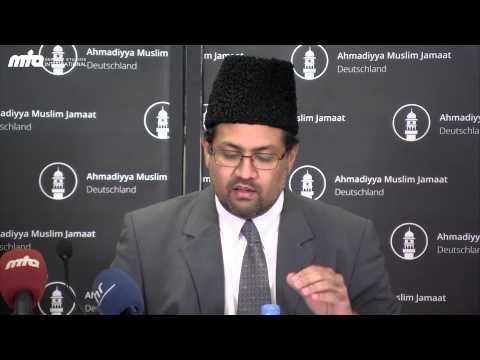 Pressekonferenz zu den Vorwürfen gegen die Ahmadiyya Muslim Jamaat