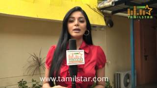 Sanam Shetty Speaks at Thottal Vidathu Movie Press Meet