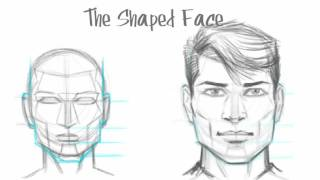 How to Draw the Male Face - Basic Drawing Tutorial