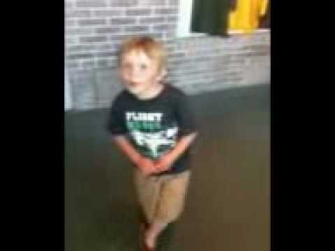 Little George 4yrs Singing Watching Airplanes Gary Allen