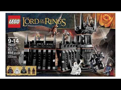Video Lotr Battle At The Black Gate 79007 now online at YouTube