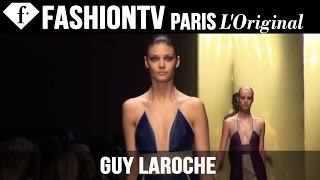 Guy Laroche Spring/Summer 2015 FIRST LOOK | Paris Fashion Week | FashionTV