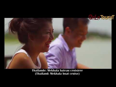 Mekhala bateau croisière en Thaïlande (Mekhala boat cruise - Galatourist)