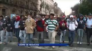 Exige CANACOPE mano dura contra los manifestantes