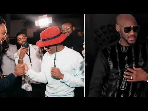 Twitter Users Angry Over The 'Disrespectul' Manner Wizkid Greeted 2Baba At Patoranking's Party