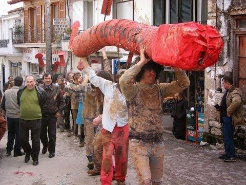 μουνακι - Βωμολοχικό Καρναβάλι Αγίας Άννας Βόρεια Εύβοια traditional carnival - Agia Anna North Evia Greece http://www.karnavalos.gr.