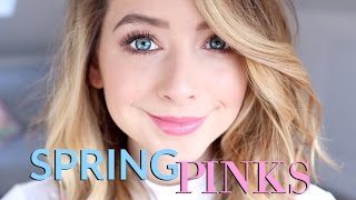 Spring Pinks Makeup Look | Show & Tell | Zoella by Zoella