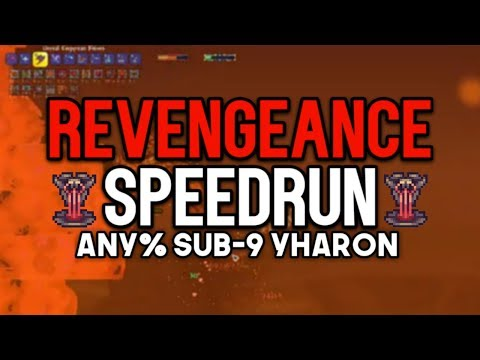 Stream Record: Sub-9 Yharon (wr) & Scal In 12 Hours! - Terraria Calamity Speedrun [revengeance]