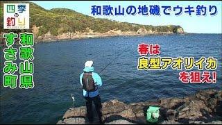 和歌山の地磯でウキ釣り 春は良型アオリイカを狙え!(四季の釣り/2021年5月7日放送)