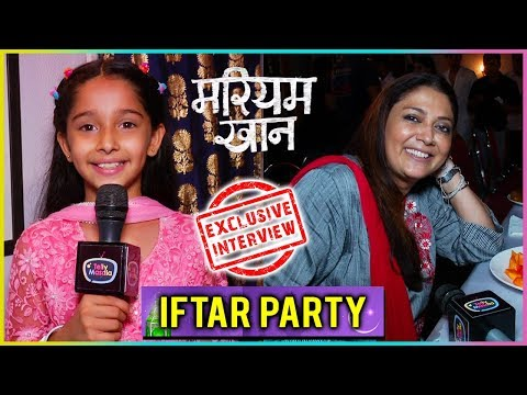 Mariam & Rifat Celebrate Iftar On Sets | Mariam Kh