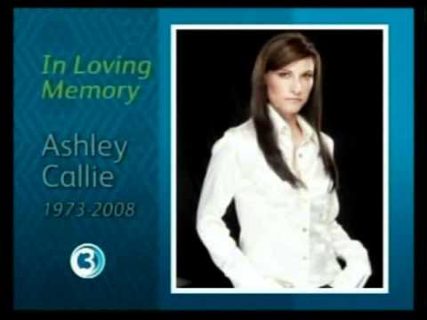 SABC 3 photo tribute to Ashley Callie