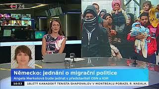 Německo: jednání o migrační politice
