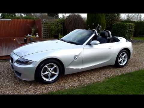 Video Review of 2006 BMW Z4 2.0 SE Convertible For Sale SDSC Specialist Cars Cambridge