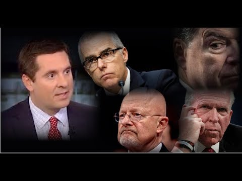 NUNES HAMMERS DEEP STATE FOR TWISTING FACTS IN RUSSIA PROBE TO HELP HILLARY! (видео)