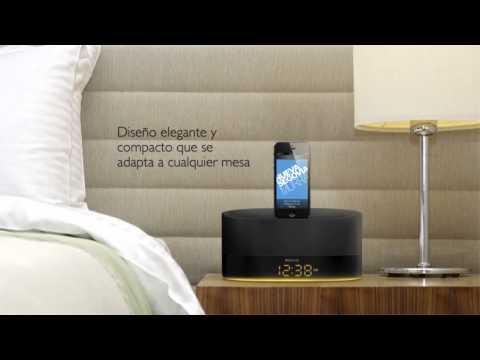 DS1600 - PARLANTE CON DUAL DOCK PARA DISPOSITIVOS APPLE (IPOD, IPAD Y IPHONE)