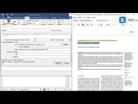 TUTOR VIRTUAL | Citas Y Referencias APA En Word 2016
