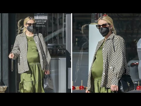 Mommy-To-Be Emma Roberts Shows Off Her HUGE Baby Bump