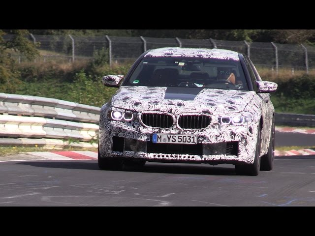 2018 BMW M5 F90 Testing Again on the Nurburgring!