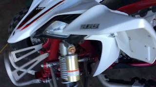 9. YFZ450R CHANGING COOLANT