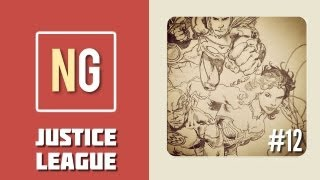 Time Lapse Drawing: Justice League [Drawing #12]