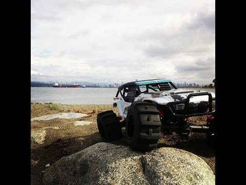 Kyosho - What a blast my son and I had running out new Kyosho FO-XXve 4x4 truck! We hit up Spanish banks and it was perfect. I can't wait to rip this up some dirt hil...