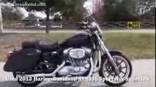 7. 2013 Harley Davidson Sportster Superlow with Speakers