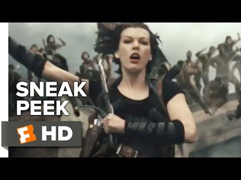 Resident Evil: The Final Chapter Official Sneak Peek 1 (2017) - Milla Jovovich Movie